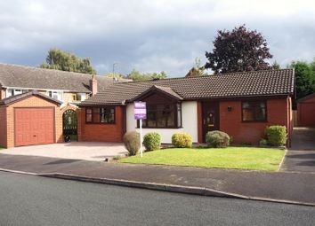 Thumbnail 3 bed detached bungalow for sale in The Furlong, Stone