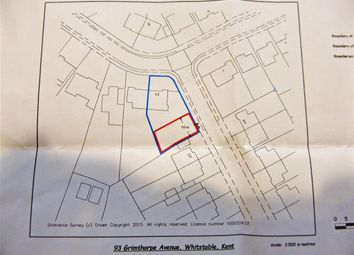 Thumbnail Land for sale in Sherwood Drive, Whitstable, Kent