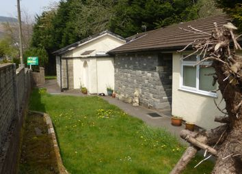 Thumbnail 3 bed detached bungalow for sale in The Avenue, Pontygwaith, Ferndale
