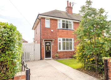 Thumbnail 3 bed semi-detached house for sale in Lady Road, York