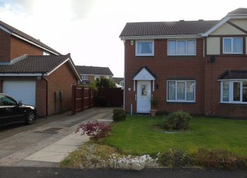 Thumbnail 3 bed semi-detached house for sale in Malvern Close, Ashington