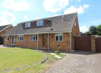 Thumbnail 2 bed semi-detached bungalow for sale in Stanhope Avenue, Sittingbourne