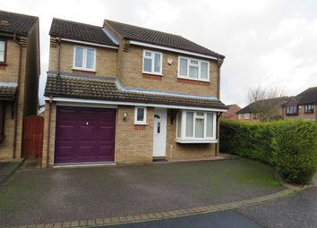 Thumbnail 4 bed detached house for sale in Suffield Close, Tharston, Norwich
