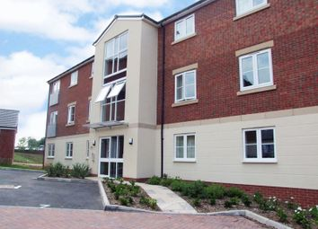 Thumbnail 2 bed flat to rent in Hollington House, Dixon Close, Redditch