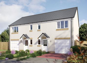 "Thumbnail 3 bed semi-detached house for sale in ""The Newton"" at Hamilton Road, Larbert"