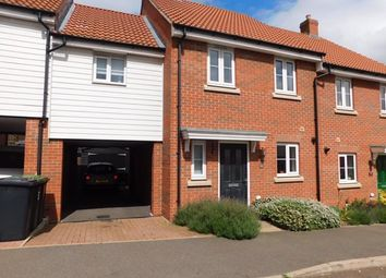 Thumbnail 3 bedroom semi-detached house for sale in Buzzard Rise, Stowmarket