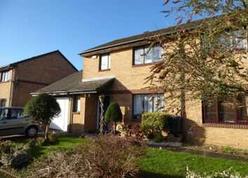 Thumbnail 3 bed semi-detached house for sale in Montgomery Road, Caversfield, Bicester