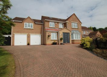 Thumbnail 6 bed detached house for sale in Longford Close, Stapenhill, Burton-On-Trent
