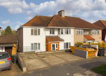 Thumbnail 5 bed semi-detached house for sale in Derek Avenue, West Ewell, Epsom