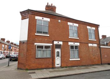 Thumbnail 3 bedroom end terrace house for sale in Harrison Road, Belgrave, Leicester