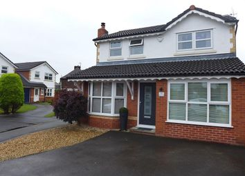 Thumbnail 3 bed detached house for sale in Wearhead Close, Golborne, Warrington