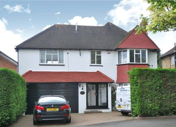 Thumbnail 4 bed detached house for sale in Wickham Avenue, Cheam, Sutton