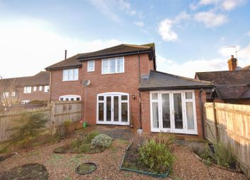 Thumbnail 3 bed semi-detached house for sale in Jenkins Court, Dark Lane, Wingrave, Aylesbury