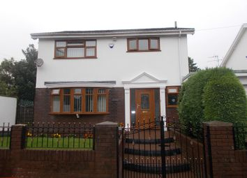 Thumbnail 4 bedroom detached house for sale in Cefn Parc, Neath