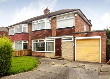 Thumbnail 3 bed semi-detached house for sale in Beechcroft Avenue, Gosforth, Newcastle Upon Tyne