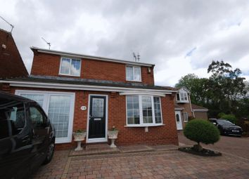 Thumbnail 3 bedroom detached house for sale in Sandmartin Close, Ashington