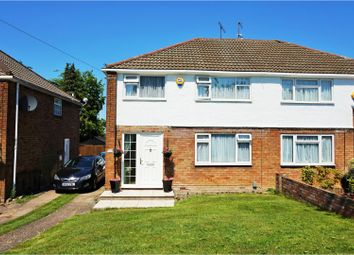 Thumbnail 3 bed semi-detached house for sale in Charlwood Road, Luton