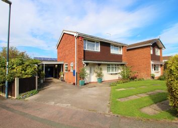 Thumbnail 4 bed detached house for sale in Tiverton Close, Mickleover, Derby