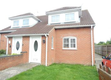 Thumbnail 3 bedroom semi-detached house to rent in Kingsbury Road, Trimley St. Mary, Felixstowe