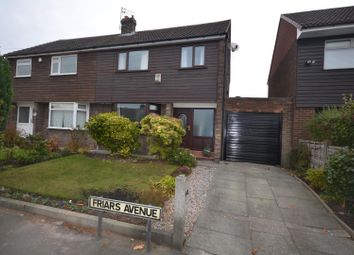 Thumbnail 3 bed semi-detached house for sale in Friars Avenue, Great Sankey, Warrington