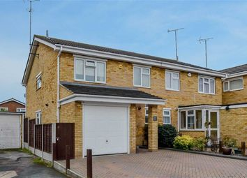 Thumbnail 4 bed semi-detached house for sale in Rowan Walk, Leigh-On-Sea, Essex