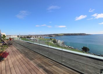 Thumbnail 4 bed flat for sale in Azure, Cliff Road, The Hoe, Plymouth