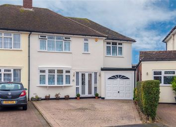 Thumbnail 5 bed semi-detached house for sale in Ryefeld Close, Hoddesdon, Hertfordshire