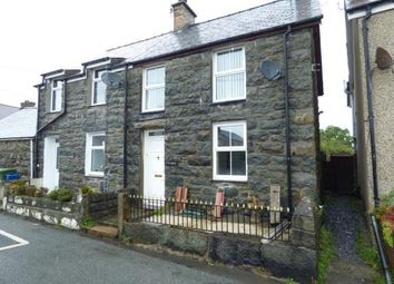 Thumbnail 2 bed semi-detached house for sale in Ty Engan, Chwilog, Pwllheli, Gwynedd