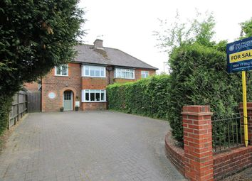 Thumbnail 3 bedroom semi-detached house for sale in Worting Road, Basingstoke