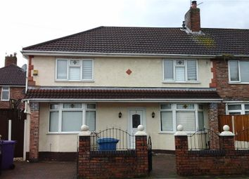 Thumbnail 4 bed end terrace house for sale in Gribble Road, Fazakerley, Liverpool