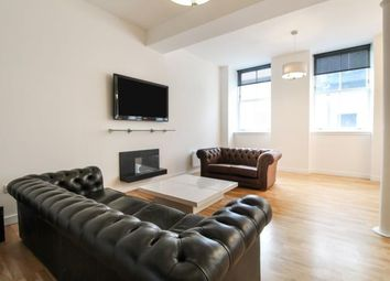 Thumbnail 3 bed flat to rent in Mitchell Street, Glasgow