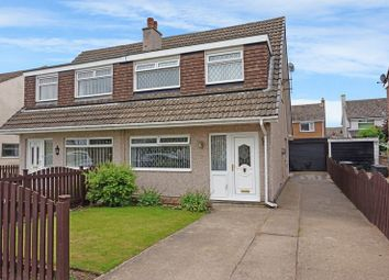 Thumbnail 3 bed semi-detached house for sale in Vicar Park Drive, Halifax