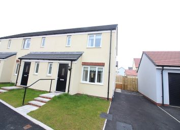 Thumbnail 3 bed end terrace house to rent in Turnberry Close, Hubberston, Milford Haven, Pembrokeshire.