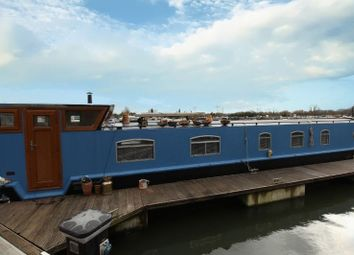 Thumbnail 1 bed houseboat for sale in Priory Marina, Barkers Lane, Bedford