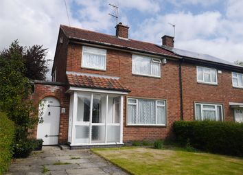 Thumbnail 3 bedroom semi-detached bungalow for sale in Thoresby Road, York
