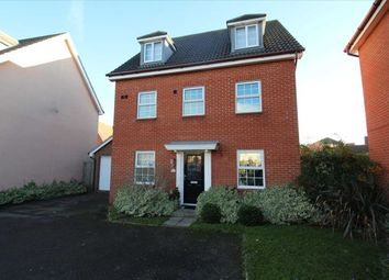 Thumbnail 5 bed detached house for sale in Spindler Close, Grange Farm, Kesgrave, Ipswich