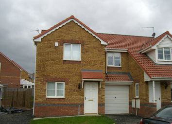 Thumbnail 2 bedroom semi-detached house to rent in St. Helens Drive, Seaham