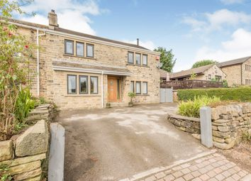 Thumbnail 3 bed semi-detached house for sale in Flathouse, Linthwaite, Huddersfield