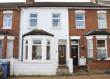 Thumbnail 3 bed terraced house to rent in Lysons Road, Aldershot
