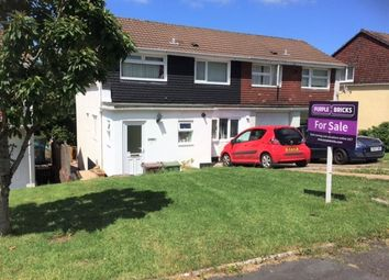 Thumbnail 4 bedroom semi-detached house for sale in Beverston Way, Plymouth