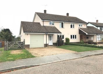 Thumbnail 3 bed semi-detached house to rent in The Street, Eyke, Woodbridge