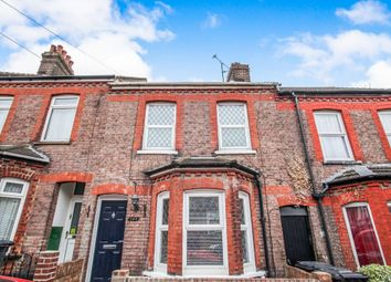 Thumbnail 3 bedroom terraced house for sale in Talbot Road, Luton