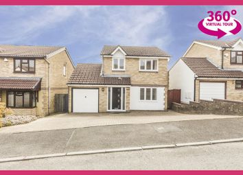 Thumbnail 3 bedroom detached house for sale in Ashleigh Court, Henllys, Cwmbran