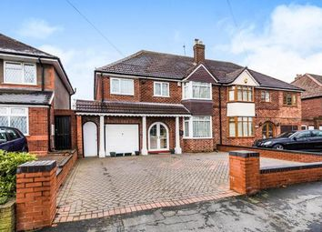 Thumbnail 5 bedroom semi-detached house for sale in Walstead Road, Walsall, West Midlands