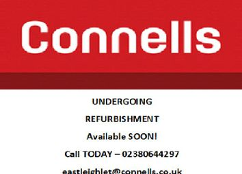 Thumbnail 4 bed terraced house to rent in Bellevue Road, Eastleigh