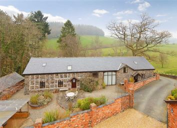 Thumbnail 4 bed barn conversion for sale in Llanfyllin