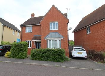 Thumbnail 4 bedroom detached house for sale in Turnstone Drive, Bury St. Edmunds