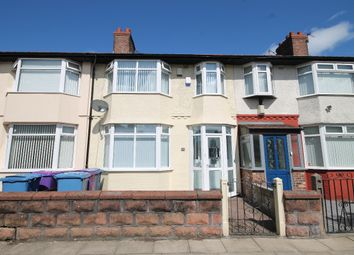 Thumbnail 3 bed terraced house for sale in Eastcliffe Road, Stoneycroft, Liverpool