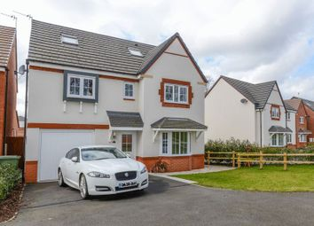 Thumbnail 5 bed detached house for sale in Hollingworth Close, Yarnfield, Stone