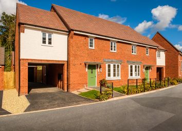 "Thumbnail 4 bed semi-detached house for sale in ""Hurst"" at Wedgwood Drive, Barlaston, Stoke-On-Trent"